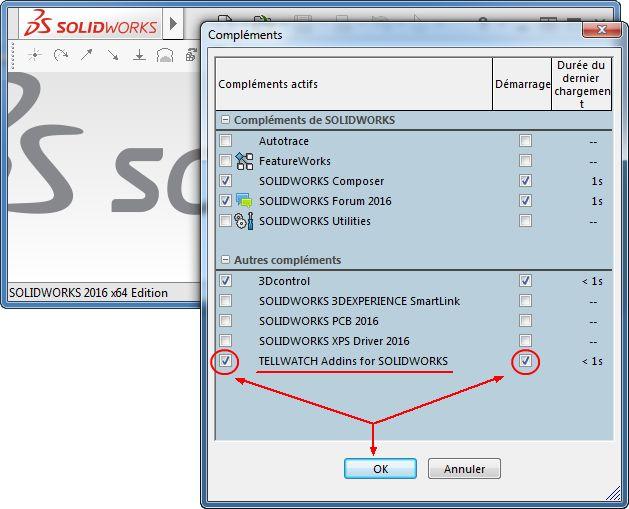 Programme additionnel pour SolidWorks